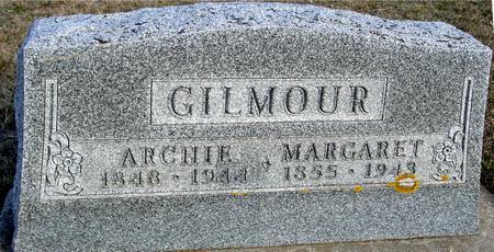 GILMOUR, ARCHIE & MARGARET - Ida County, Iowa | ARCHIE & MARGARET GILMOUR
