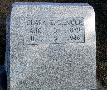 GILMOUR, CLARA Z. - Ida County, Iowa   CLARA Z. GILMOUR
