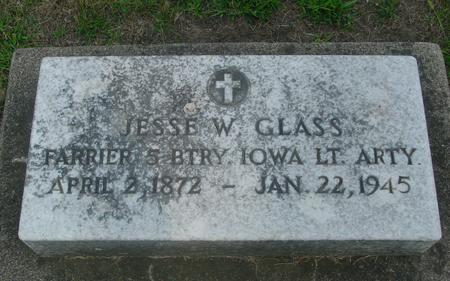 GLASS, JESSE W. - Ida County, Iowa   JESSE W. GLASS