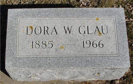 GLAU, DORA W. - Ida County, Iowa | DORA W. GLAU