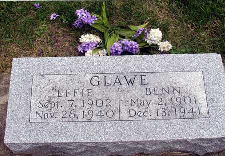 GLAWE, BENN & EFFIE - Ida County, Iowa   BENN & EFFIE GLAWE