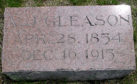 GLEASON, A. J. - Ida County, Iowa | A. J. GLEASON