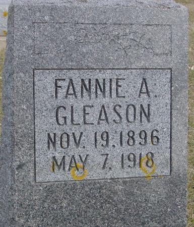 GLEASON, FANNIE A. - Ida County, Iowa | FANNIE A. GLEASON