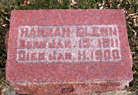 GLENN, HANNAH - Ida County, Iowa   HANNAH GLENN