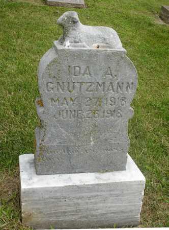GNUTZMANN, IDA A. - Ida County, Iowa | IDA A. GNUTZMANN