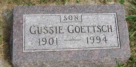 GOETTSCH, GUSSIE - Ida County, Iowa   GUSSIE GOETTSCH