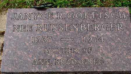 GOETTSCH, JANYCE R. - Ida County, Iowa | JANYCE R. GOETTSCH