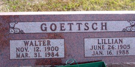 GOETTSCH, WALTER & LILLIAN - Ida County, Iowa | WALTER & LILLIAN GOETTSCH