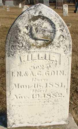 GOIN, WILLIE - Ida County, Iowa | WILLIE GOIN