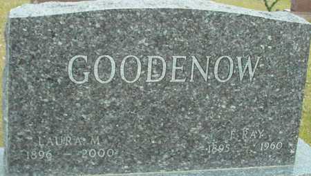 GOODENOW, F. RAY & LAURA - Ida County, Iowa | F. RAY & LAURA GOODENOW