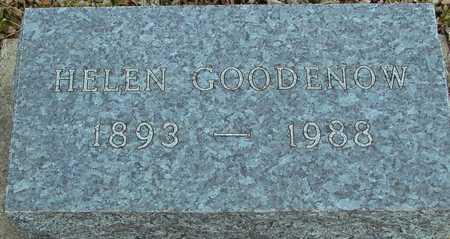 GOODENOW, HELEN - Ida County, Iowa   HELEN GOODENOW