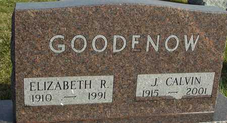 GOODENOW, J. CALVIN & ELIZABETH - Ida County, Iowa | J. CALVIN & ELIZABETH GOODENOW