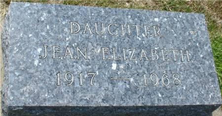GOODENOW, JEAN ELIZABETH - Ida County, Iowa | JEAN ELIZABETH GOODENOW