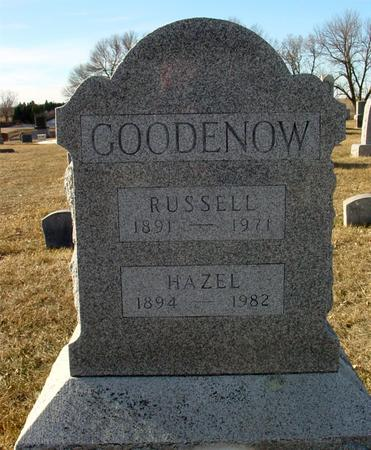 GOODENOW, RUSSELL - Ida County, Iowa | RUSSELL GOODENOW