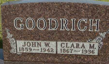 GOODRICH, JOHN & CLARA - Ida County, Iowa | JOHN & CLARA GOODRICH