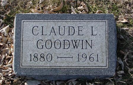 GOODWIN, CLAUDE L. - Ida County, Iowa | CLAUDE L. GOODWIN