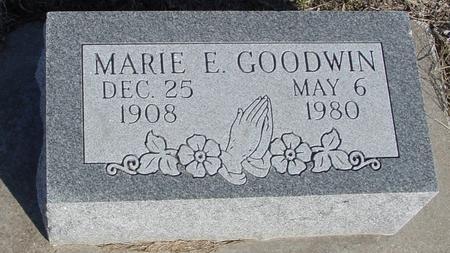 GOODWIN, MARIE E. - Ida County, Iowa | MARIE E. GOODWIN