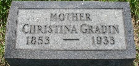 BERG GRADIN, CHRISTINA - Ida County, Iowa | CHRISTINA BERG GRADIN