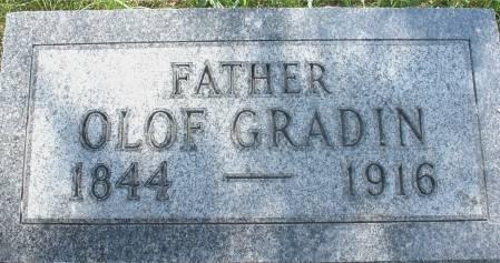 GRADIN, OLOF - Ida County, Iowa | OLOF GRADIN