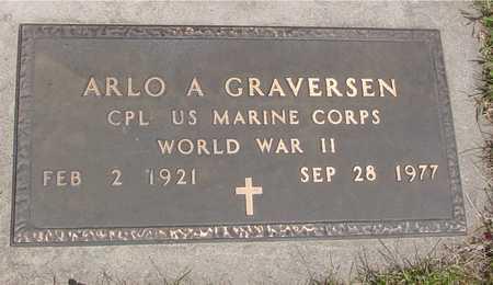 GRAVERSEN, ARLO A. - Ida County, Iowa | ARLO A. GRAVERSEN