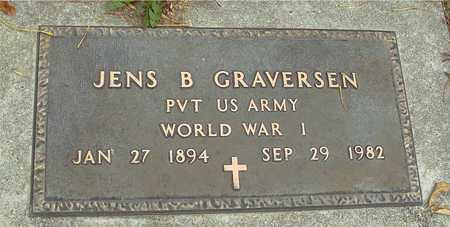GRAVERSEN, JENS B. - Ida County, Iowa   JENS B. GRAVERSEN
