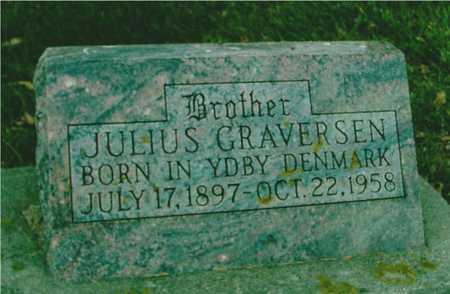 GRAVERSEN, JULIUS - Ida County, Iowa   JULIUS GRAVERSEN
