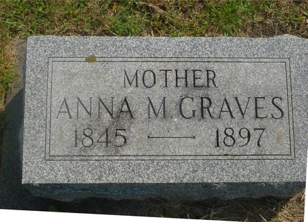 GRAVES, ANNA M. - Ida County, Iowa | ANNA M. GRAVES