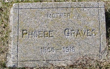 GRAVES, PHOEBE - Ida County, Iowa | PHOEBE GRAVES