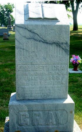 GRAY, ELIZABETH - Ida County, Iowa | ELIZABETH GRAY