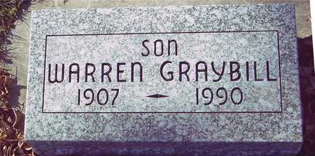 GRAYBILL, WARREN - Ida County, Iowa | WARREN GRAYBILL