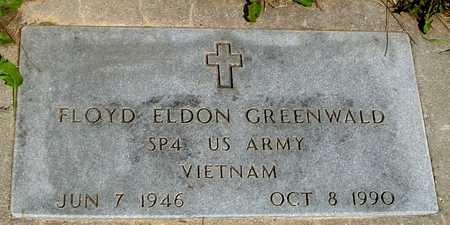 GREENWALD, FLOYD ELDON - Ida County, Iowa   FLOYD ELDON GREENWALD