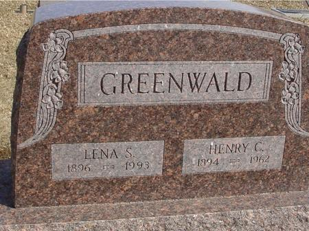 GREENWALD, HENRY & LENA - Ida County, Iowa   HENRY & LENA GREENWALD