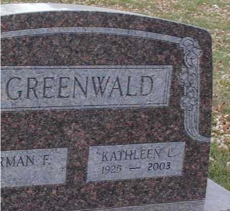 GREENWALD, KATHLEEN L. - Ida County, Iowa | KATHLEEN L. GREENWALD