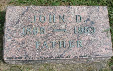 GREVE, JOHN D. - Ida County, Iowa   JOHN D. GREVE