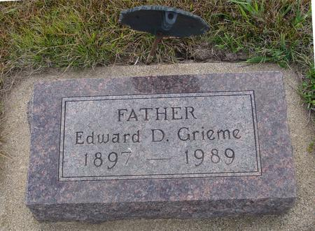 GRIEME, EDWARD D. - Ida County, Iowa | EDWARD D. GRIEME