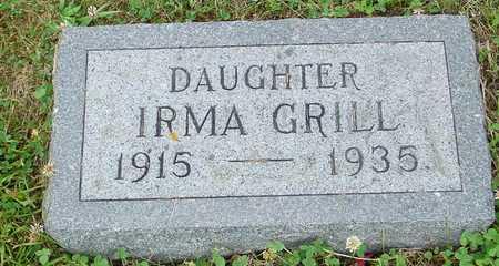 GRILL, IRMA - Ida County, Iowa | IRMA GRILL