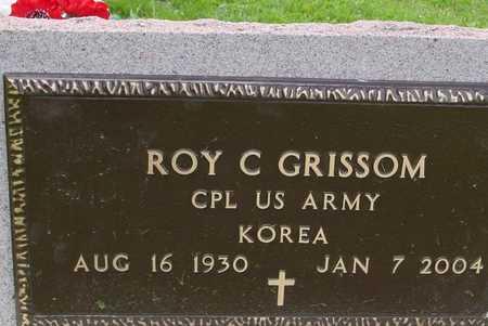 GRISSOM, ROY C. - Ida County, Iowa | ROY C. GRISSOM