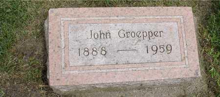 GROEPPER, JOHN - Ida County, Iowa   JOHN GROEPPER