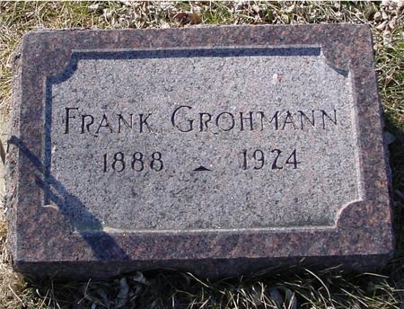 GROHMANN, FRANK - Ida County, Iowa | FRANK GROHMANN