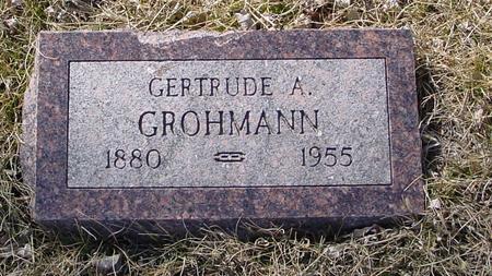GROHMANN, GERTRUDE A. - Ida County, Iowa | GERTRUDE A. GROHMANN