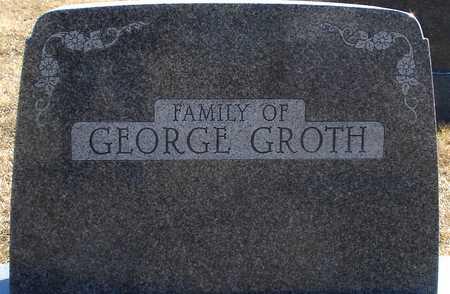 GROTH, FAMILY MARKER - Ida County, Iowa | FAMILY MARKER GROTH