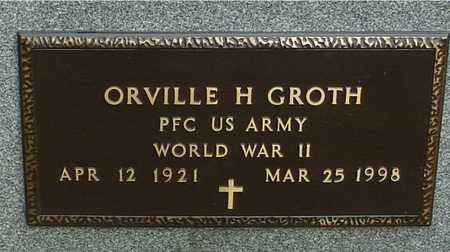 GROTH, ORVILLE H. - Ida County, Iowa | ORVILLE H. GROTH