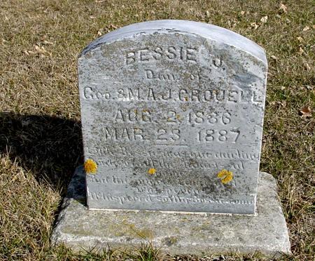 GROUELL, BESSIE J. - Ida County, Iowa | BESSIE J. GROUELL