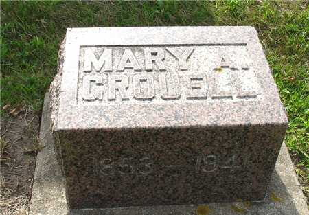 GROUELL, MARY A. - Ida County, Iowa | MARY A. GROUELL