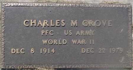 GROVE, CHARLES M. - Ida County, Iowa   CHARLES M. GROVE