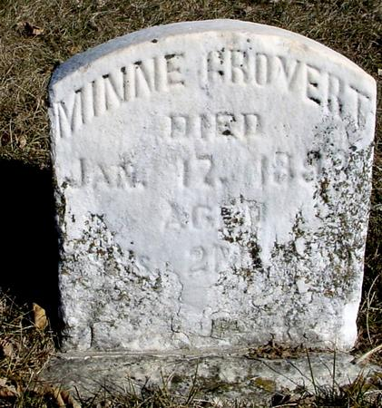 GROVERT, MINNIE - Ida County, Iowa | MINNIE GROVERT