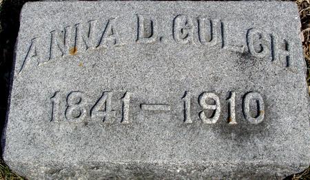 GULCH, ANNA D. - Ida County, Iowa | ANNA D. GULCH