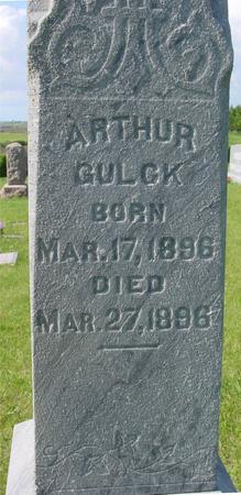 GULCK, ARTHUR - Ida County, Iowa | ARTHUR GULCK