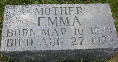 CARLSON GUSTAFSON, EMMA - Ida County, Iowa | EMMA CARLSON GUSTAFSON