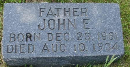 GUSTAFSON, JOHN E. - Ida County, Iowa   JOHN E. GUSTAFSON